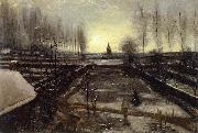 Vincent Van Gogh The Garden of the Rectory at Nuenen oil painting picture wholesale