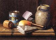 William Michael Harnett Still life with Three Tobacco oil painting picture wholesale