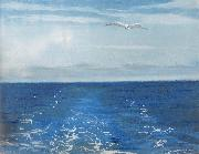 William Stott of Oldham Seagulls Astern oil painting picture wholesale