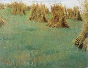 William Stott of Oldham Stacked Corn oil painting picture wholesale