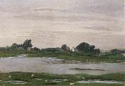 William Stott of Oldham River in Flood oil painting picture wholesale