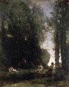 camille corot Idyll oil painting picture wholesale