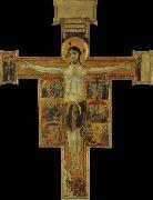 unknow artist The crucifixion with scenes of the suffering Christs oil painting picture wholesale