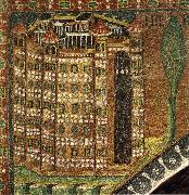 unknow artist Mosaic in the church of San vital, Ravenna, Italy oil painting picture wholesale