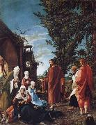 ALTDORFER, Albrecht Christ Taking Leave of his mother oil painting picture wholesale