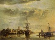 Aelbert Cuyp The Meuse by Dordrecht oil painting picture wholesale