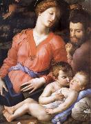 Agnolo Bronzino The Sacred Family Second half of the century XVI oil painting picture wholesale