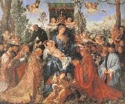 Albrecht Durer The Feast of the rose Garlands the virgen,the Infant Christ and St.Dominic distribut rose garlands oil painting picture wholesale