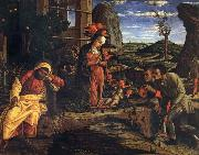 Andrea Mantegna Adoration of the Shepherds oil painting picture wholesale