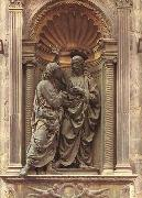 Andrea della Verrocchio Christ and Doubting Thomas oil
