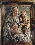 Andrea della Verrocchio Madonna aand child oil painting picture wholesale