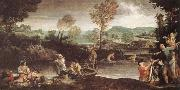 Annibale Carracci The Fishing oil painting picture wholesale