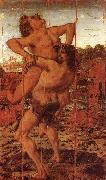 Antonio Pollaiuolo Hercules and Antaeus Time oil painting picture wholesale