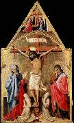 Antonio da Firenze Crucifixion with Mary and St John the Evangelist oil painting picture wholesale