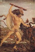 Antonio del Pollaiuolo Hercules and the Hydra oil