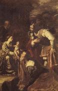 Artemisia gentileschi The adoracion of the Kings Magicians oil painting picture wholesale