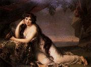 BONE, Henry Lady Hamilton as a Bacchante oil painting