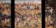 BOSCH, Hieronymus The garden of the desires, trip sign, oil painting picture wholesale