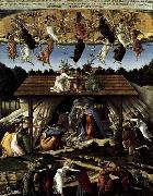 BOTTICELLI, Sandro The Mystical Nativity oil painting picture wholesale