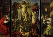 BOTTICELLI, Sandro Transfiguration, St Jerome, St Augustine oil painting picture wholesale