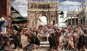 BOTTICELLI, Sandro The Punishment of Korah oil painting picture wholesale