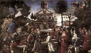 BOTTICELLI, Sandro The Temptation of Christ oil painting picture wholesale