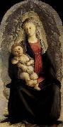 BOTTICELLI, Sandro Madonna in Glory with Seraphim oil painting picture wholesale