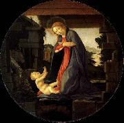 BOTTICELLI, Sandro The Virgin Adoring the Child oil painting picture wholesale
