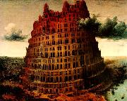 BRUEGEL, Pieter the Elder The-Little-Tower of Babel oil painting picture wholesale