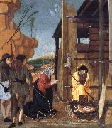 BUTINONE, Bernardino Jacopi The Adoration of the Shepherds oil