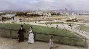 Berthe Morisot Face on Paris from Trocadero oil painting picture wholesale