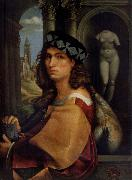 CAPRIOLO, Domenico Portrait of a man oil painting