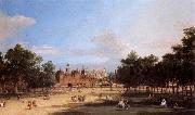 Canaletto the Old Horse Guards and Banqueting Hall, from St James-s Park oil painting picture wholesale