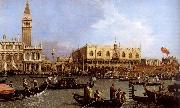 Canaletto named Canaletto Venetie, the Bacino Tue S. Marco on Hemelvaartsdag oil painting picture wholesale