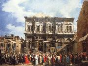 Canaletto Venice The Feast Day of Saitn Roch oil painting picture wholesale
