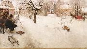 Carl Larsson The Open-Air Painter oil painting picture wholesale
