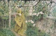 Carl Larsson The Vine Diptych oil painting picture wholesale