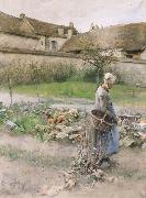Carl Larsson October oil painting reproduction