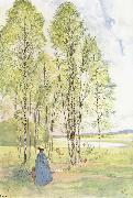 Carl Larsson Idyll oil painting picture wholesale
