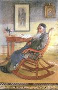 Carl Larsson My Father,Olof Larsson oil painting artist