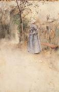 Carl Larsson Autumn oil painting picture wholesale