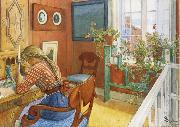 Carl Larsson Writing Letters oil painting picture wholesale