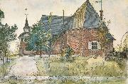 Carl Larsson The Old Church at Sundborn oil painting picture wholesale