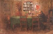 Carl Larsson Homework oil painting picture wholesale