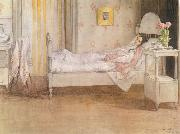 Carl Larsson Convalescence oil painting picture wholesale
