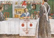 Carl Larsson A Friend from the City oil painting picture wholesale