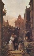 Carl Spitzweg The Farewell oil painting picture wholesale