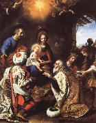 Carlo  Dolci The Adoration of the Kings oil painting artist