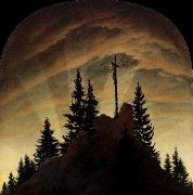 Caspar David Friedrich Cross in the Mountains oil painting picture wholesale