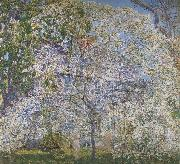 Childe Hassam Spring,The Dogwood Tree oil painting picture wholesale